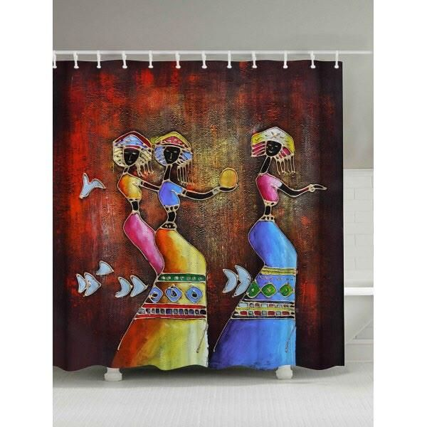 Pin On African Shower Curtains