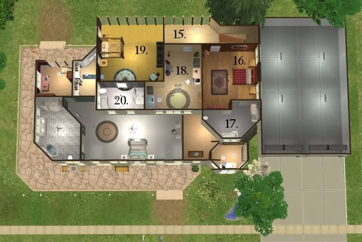 Mod The Sims The Cullen House From The Twilight Books разное