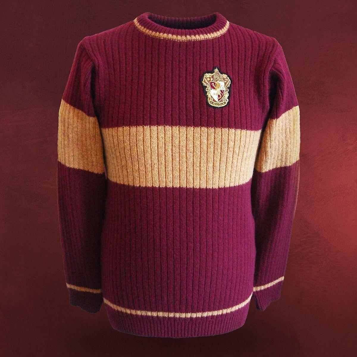 Harry Potter Quidditch Gryffindor Sweater Harry Potter Kleidung Nerdoutfits Kleidung