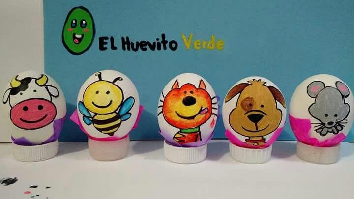 Pin de Myriam Florez en basicos Pinterest Huevos decorados y Huevo - huevos decorados