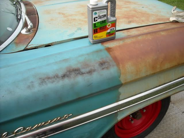 Clr Rust Removal Patina Impala How To Remove Rust