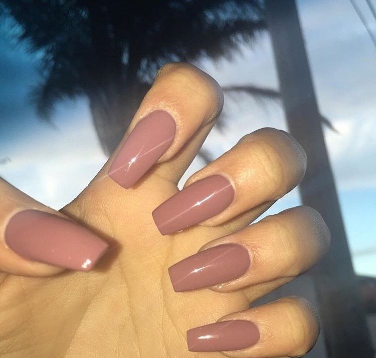 Another Great Fall Winter Colour With Images Fake Nails Nails