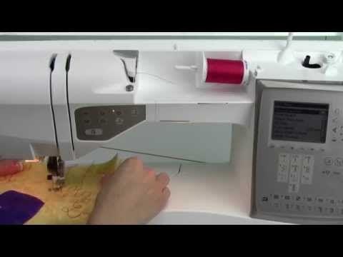 Husqvarna Viking Topaz 40 40 Free Motion Quilting YouTube Viking Simple Husqvarna Topaz 20 Sewing Embroidery Machine