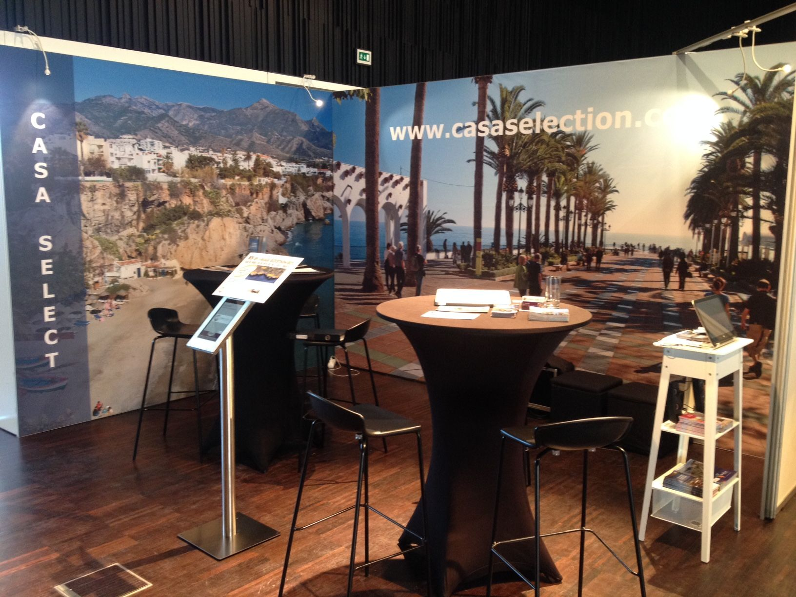 Onze Stand In Antwerpen Nerja Our Casa Select Andalucia Areas  # Muebles Hermoso Nerja