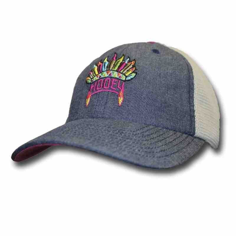 1e9f118112a A cap from Hooey is what you need to show off your western edge and modern  style. This Girls  Trucker Hat is made from a rugged but comfortable  cotton poly ...