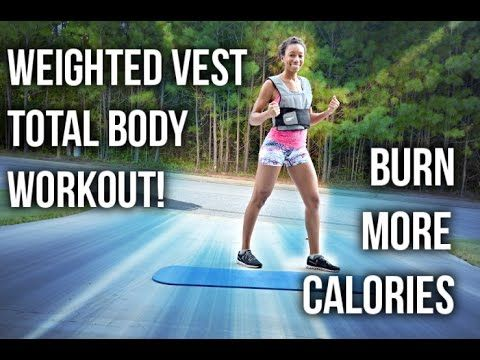 perfect fitness weighted vest total body workout  weight