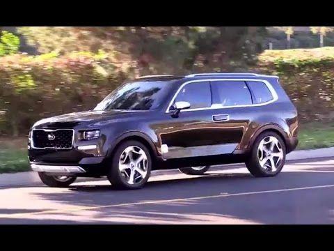 Kia Telluride Suv Concept Awesome Kia Range Rover Telluride