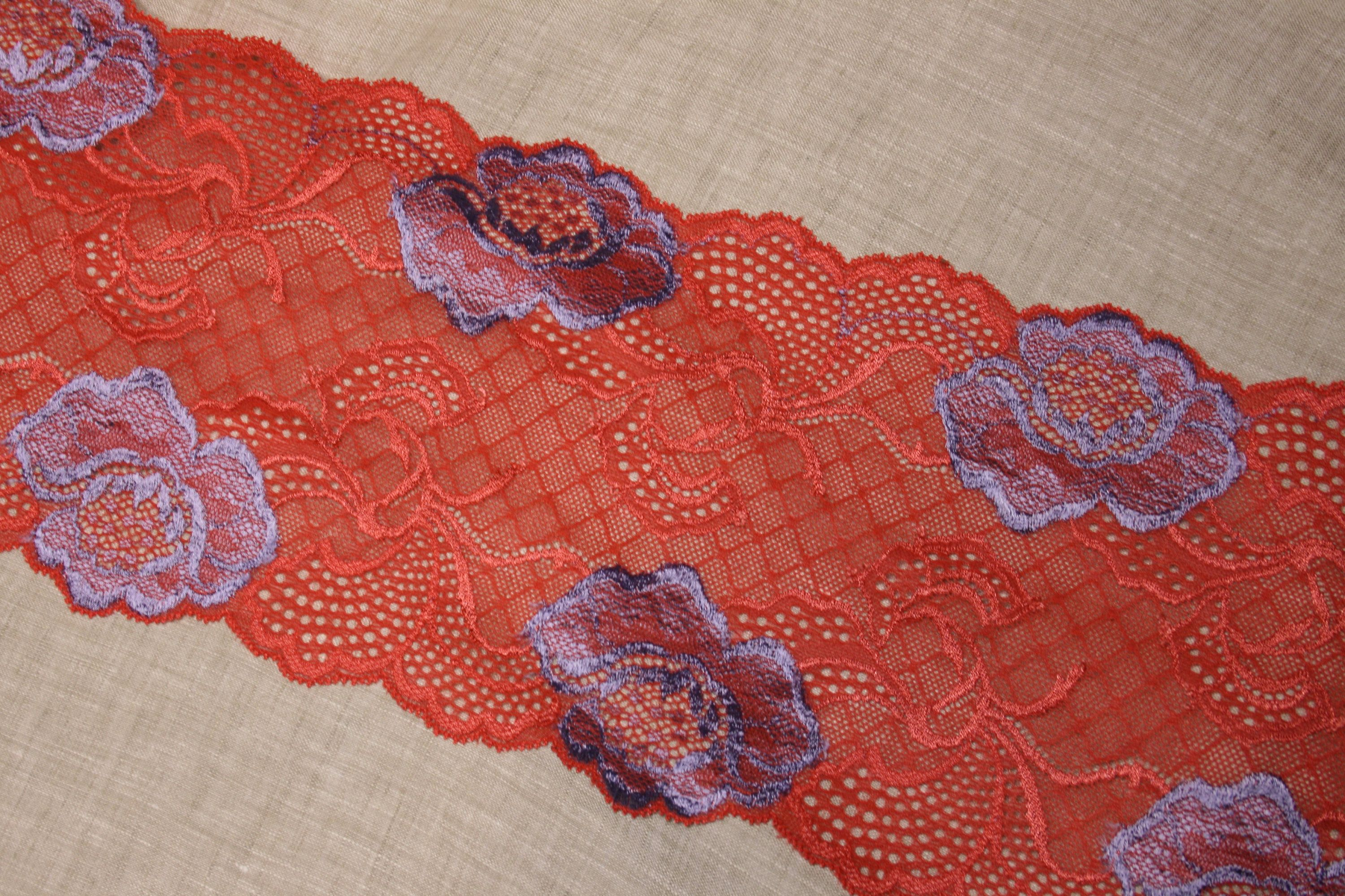 ee83b0086a Red Lace Trim 6.1