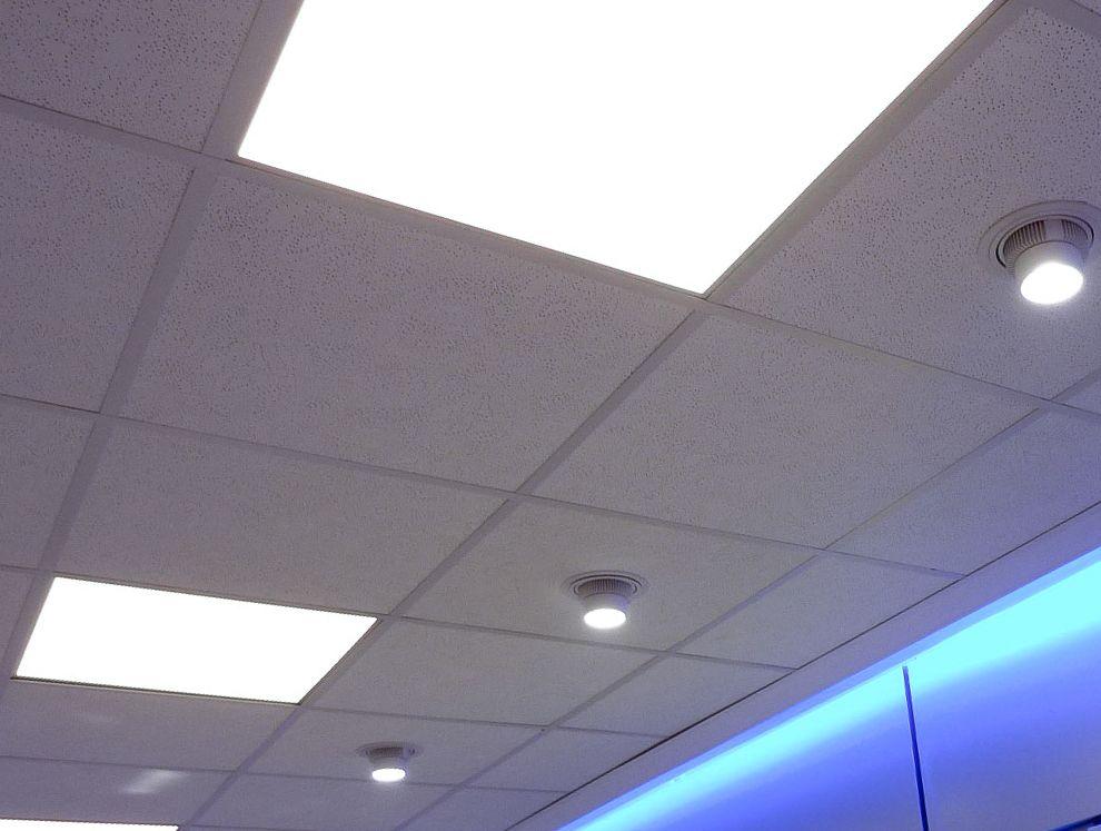 effet puit de lumi re flat light in shop clairagiste et. Black Bedroom Furniture Sets. Home Design Ideas