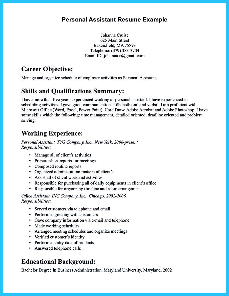 As you are confused on how to write assistant resume you