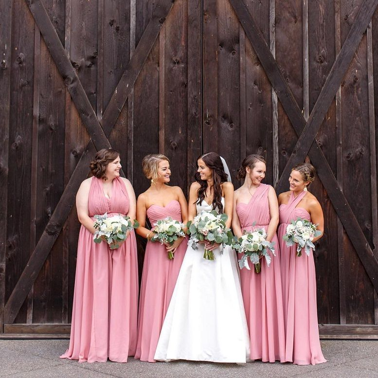 shades of pink for a wedding,pink bridesmaid dresses,blush pink color dress,blush pink dress,pink wedding color combinations,blush pink bridesmaid dresses,different shades of pink bridesmaid dresses #wedding #pinkbridesmaiddresses #blushbridesmaid