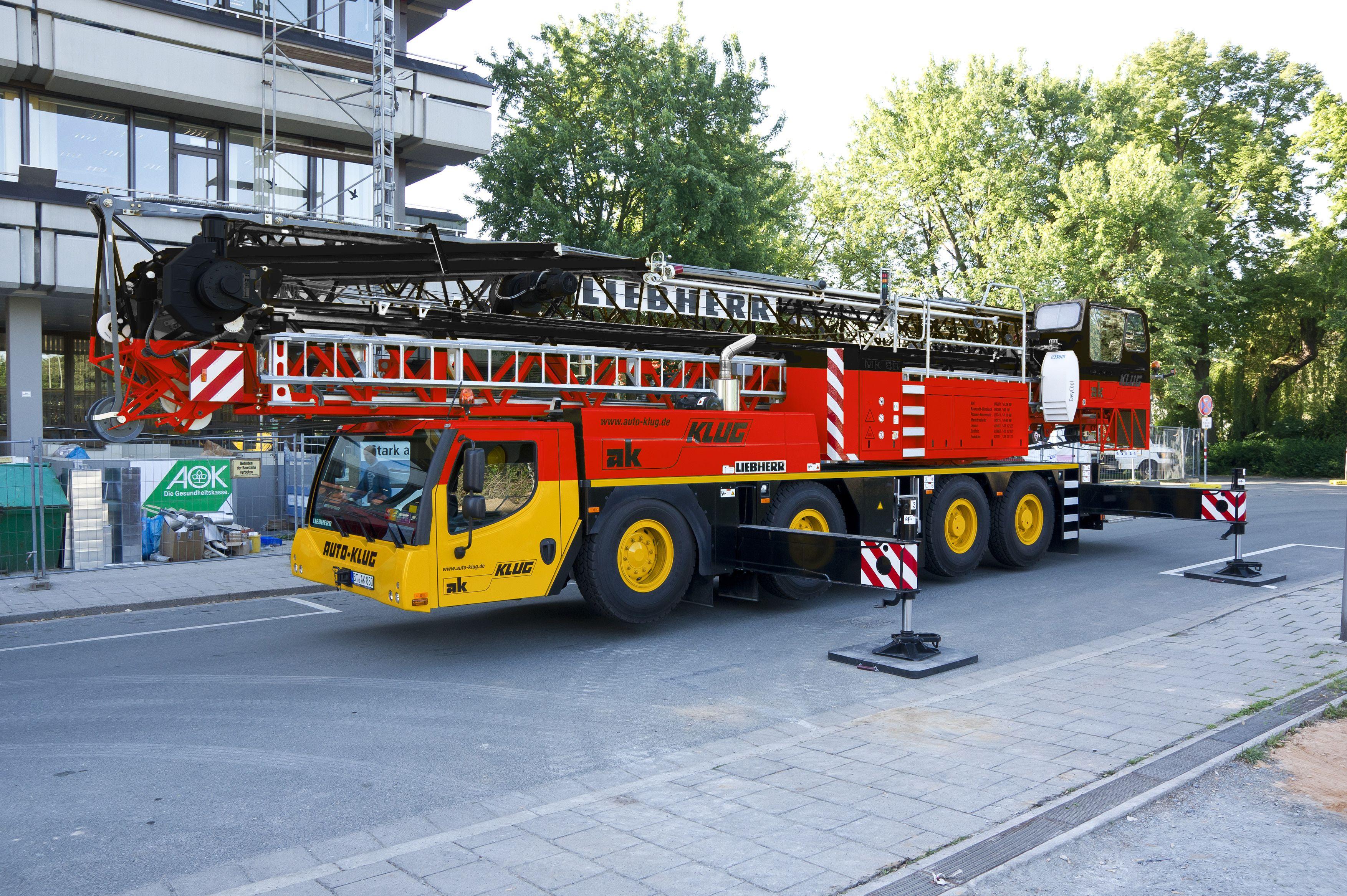 liebherr the mobile construction crane mk 88 representing germany worldcup 2014 pinterest. Black Bedroom Furniture Sets. Home Design Ideas