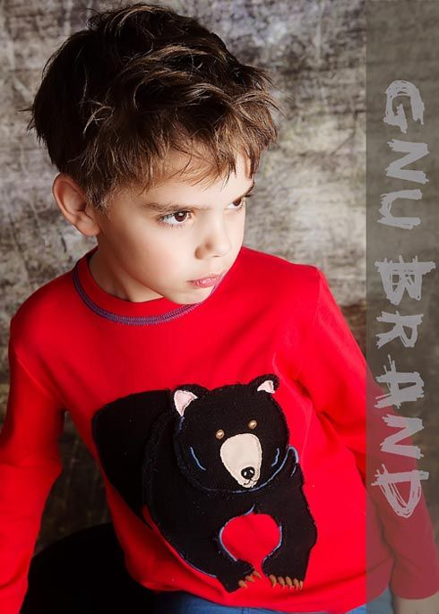 Joy Cha Of The Boyswear Gnu Brand Says Buyers Favored The Black Bear Tee 2 To 8 Years Kids Boutique Clothing Designer Kids Clothes Girls Boutique Clothing