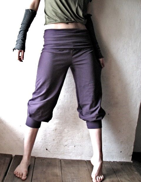 Jersey pants Yoga pants Women clothing Cotton pants by larimeloom ...