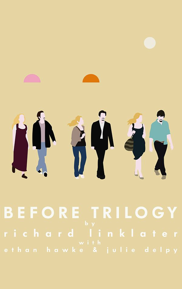 Before Trilogy, Richard Linklater, 1995-2004-2013 Before Sunrise Before  Sunset Before Midnight | Before trilogy, Before sunset movie, Before  sunrise movie