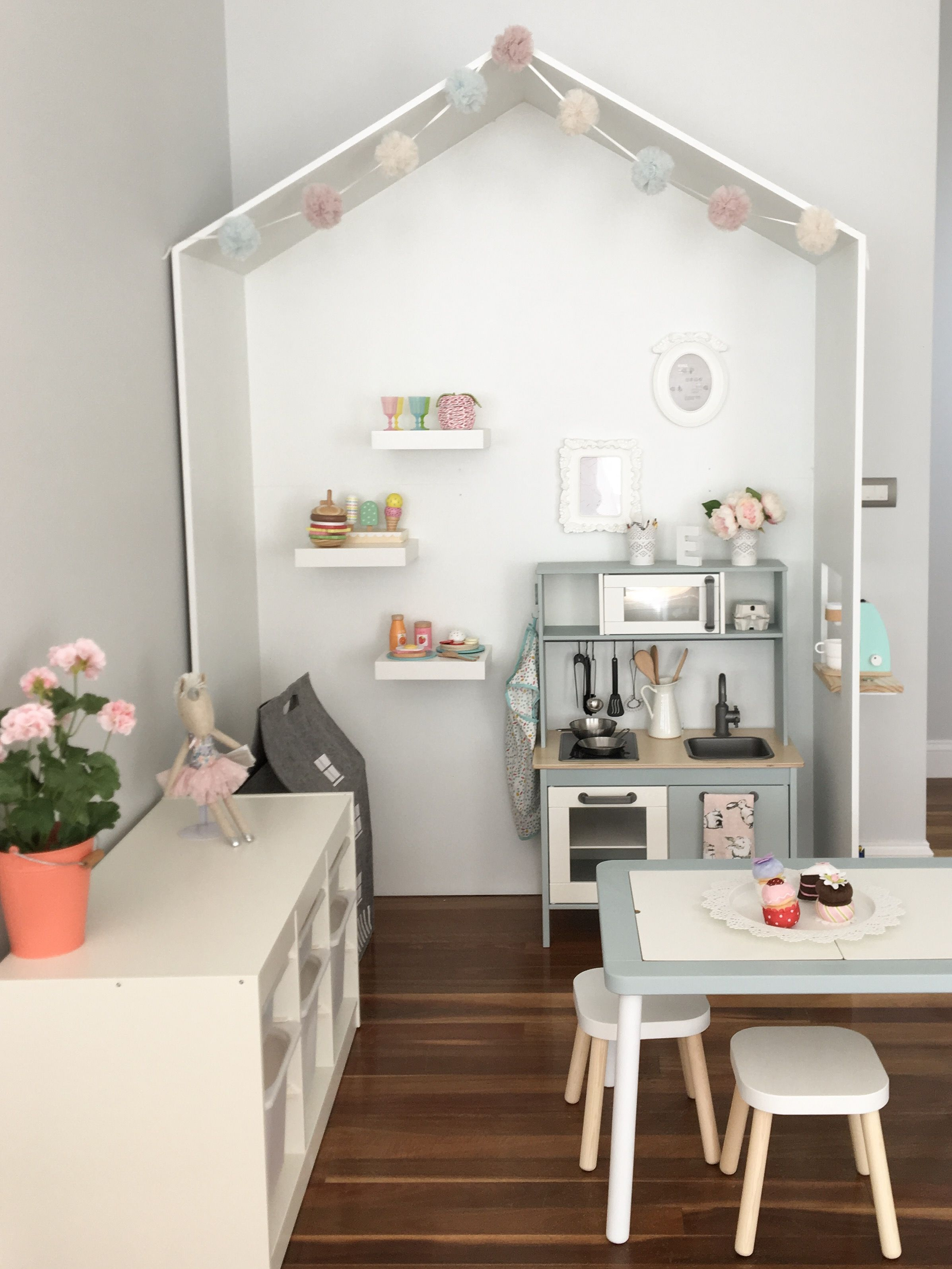 Ikea Play Area Cute Kids Play Area Create By Exult Design Ikea Duktig Kitchen