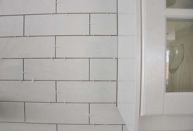 Installing A Subway Tile Backsplash in Our Kitchen Subway tile