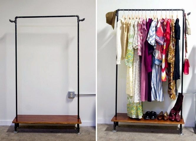 Resultado de imagem para arara de pvc Wardrobe closet
