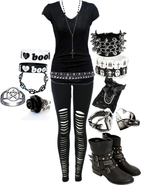 U0026quot;Concert Wearu0026quot; by bvb3666 on Polyvore | Emo/Scene/Punk | Pinterest | Concert wear Polyvore and Emo