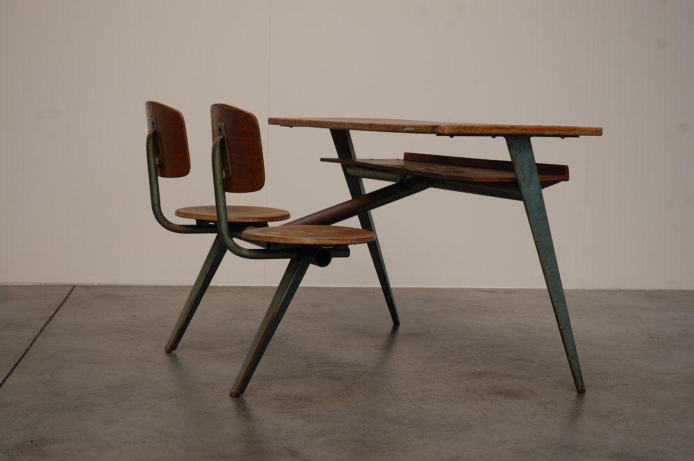 The Jean Prouve Compass Desk Jean Prouve Prouve Furniture
