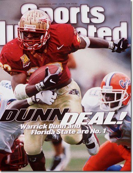 Warrick Dunn, Football, Florida State Seminoles
