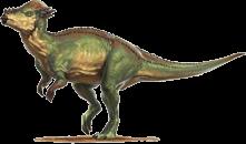 Pachycephalosaurus by L. D. Austin #prehistoriccreatures