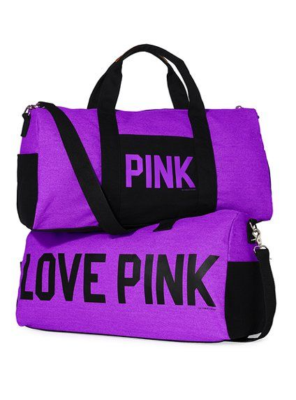 b7cd9076b3c3 Duffle - Victoria s Secret Pink® - Victoria s Secret