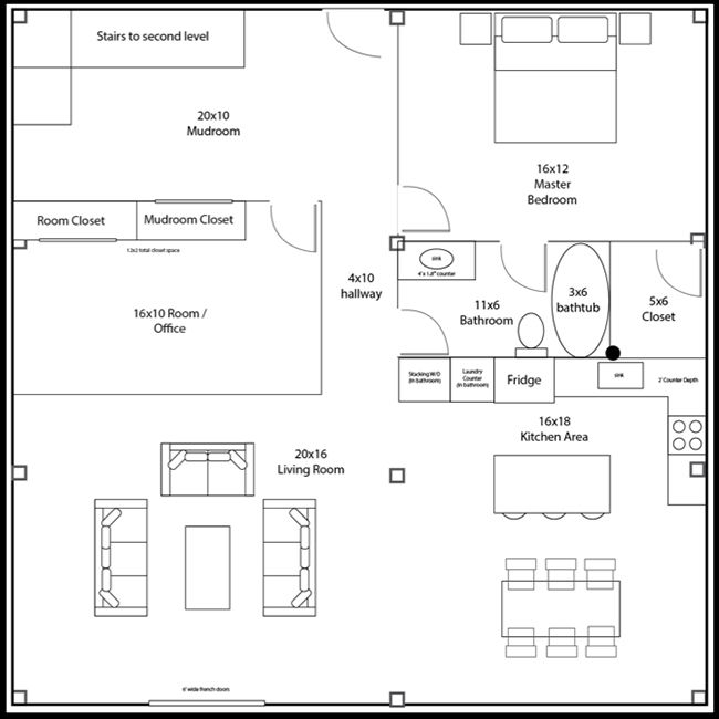 Image Result For Pure Living For Life Floor Plan Timber Frame
