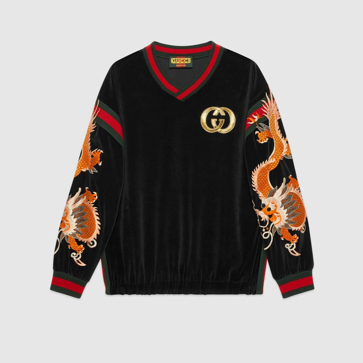 532d528c Shop the Gucci-Dapper Dan sweatshirt by Gucci. Introducing the Gucci-Dapper  Dan collection for Fall Winter 2018. In the '80s and '90s, Dapper Dan, ...