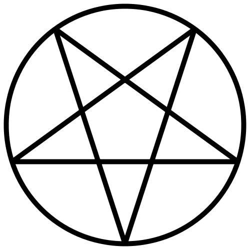The Pentagram Of Venus Pentagram Design Inverted Pentagram Pentagram Tattoo
