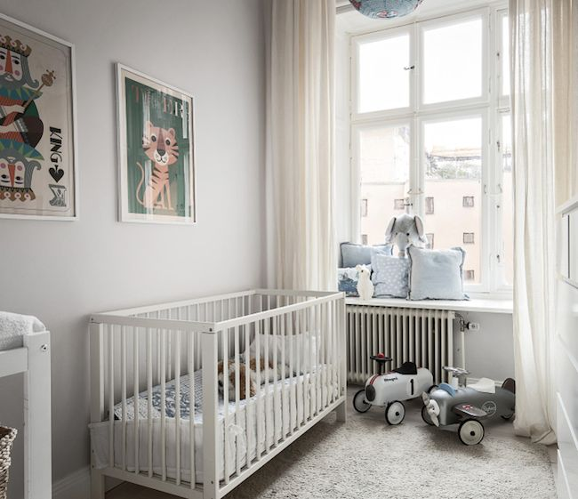 cunas, habitaciones para niños