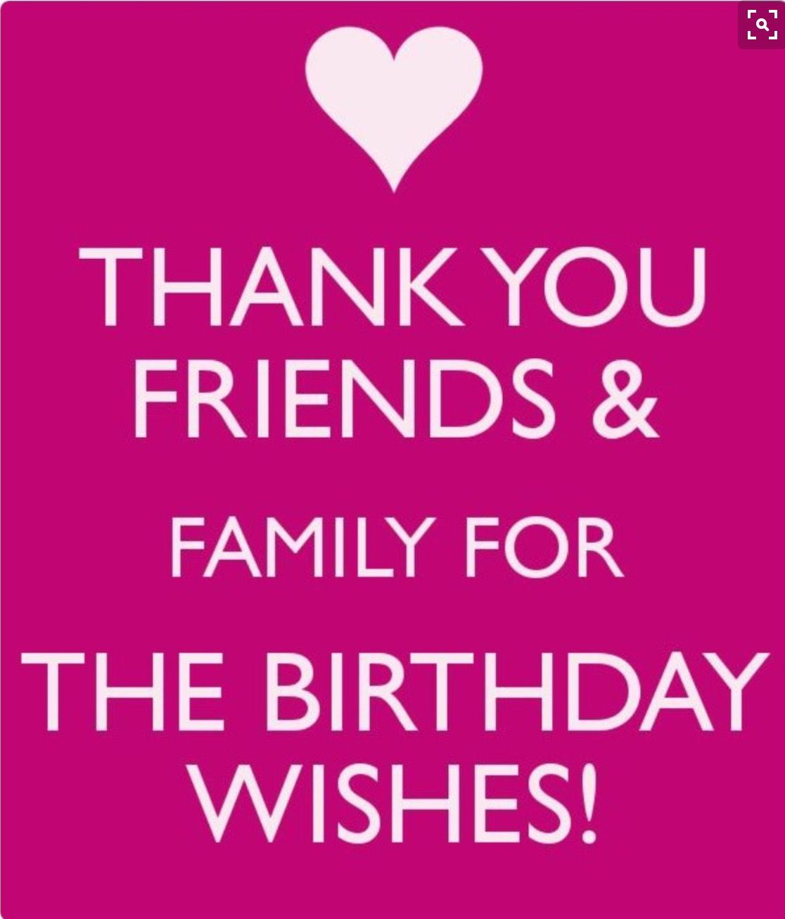 Pin by paulette adamski on birthday wishes pinterest birthdays thank you for all the birthday wishes kristyandbryce Choice Image
