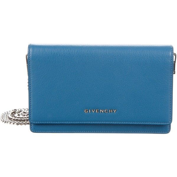 bb1d2bfb0166 Pre-owned Givenchy Pandora Wallet On Chain ( 795) ❤ liked on Polyvore  featuring