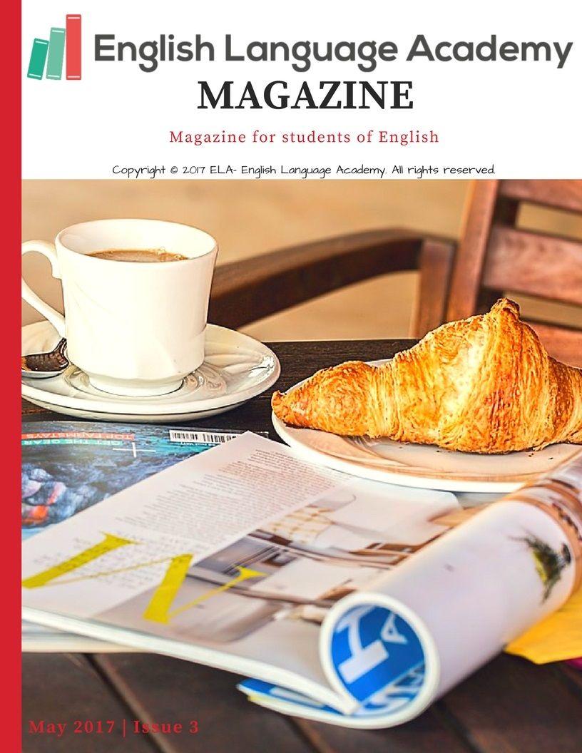 Free Magazine for students of English, ESL, EFL, ELT ...