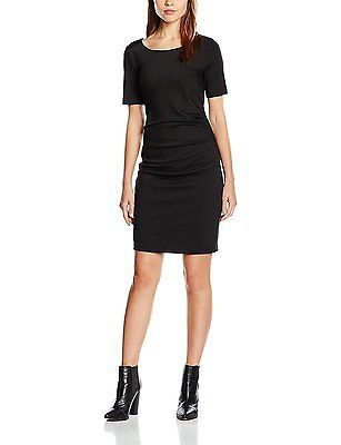 Women's Dress Deep 10Black 55177 50600Kaffe Schwarzblack IH9D2E