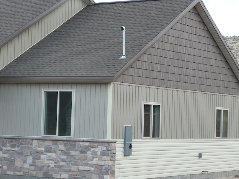 Vinyl siding vinyl shake vertical and horizontal for Horizontal metal siding
