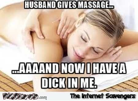 Funny sexy massage