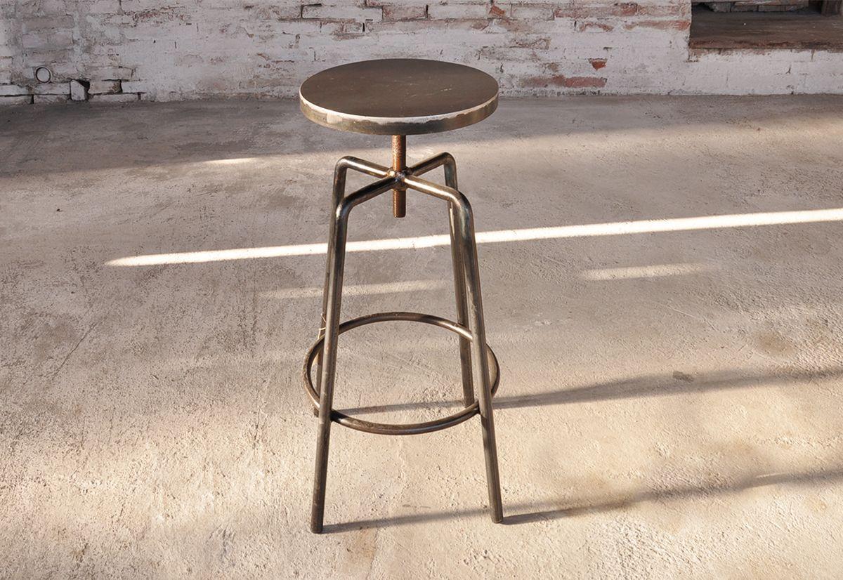SGABELLO A VITE FERRO | tavoli e sedie Ag.g | Sgabelli ...