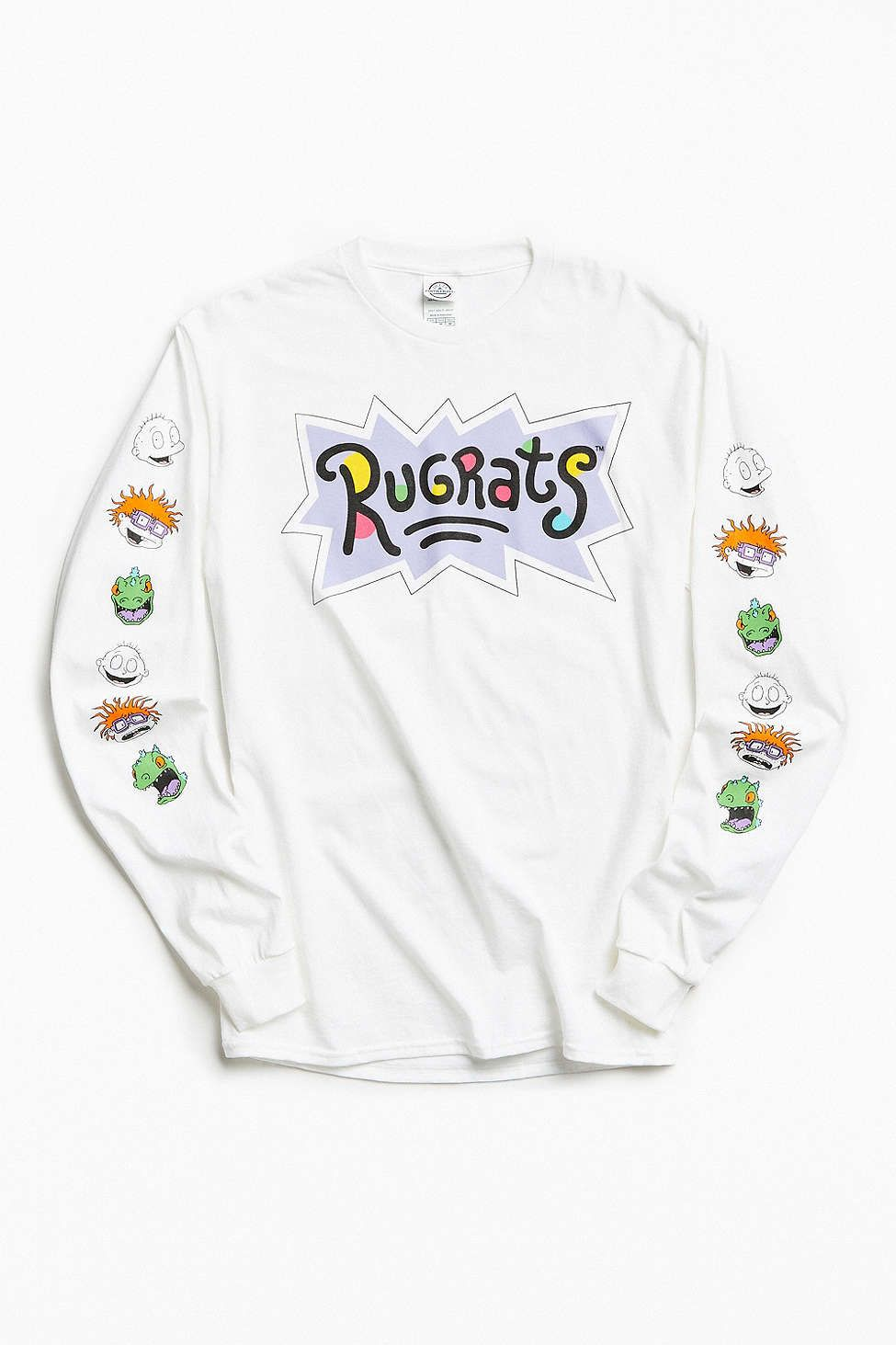 222978fd59b7 Rugrats Faces Long Sleeve Tee