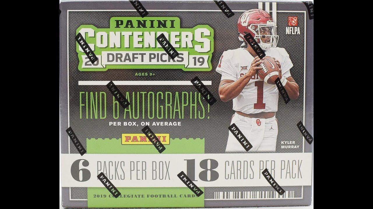 2019 contenders draft football live preview box opening