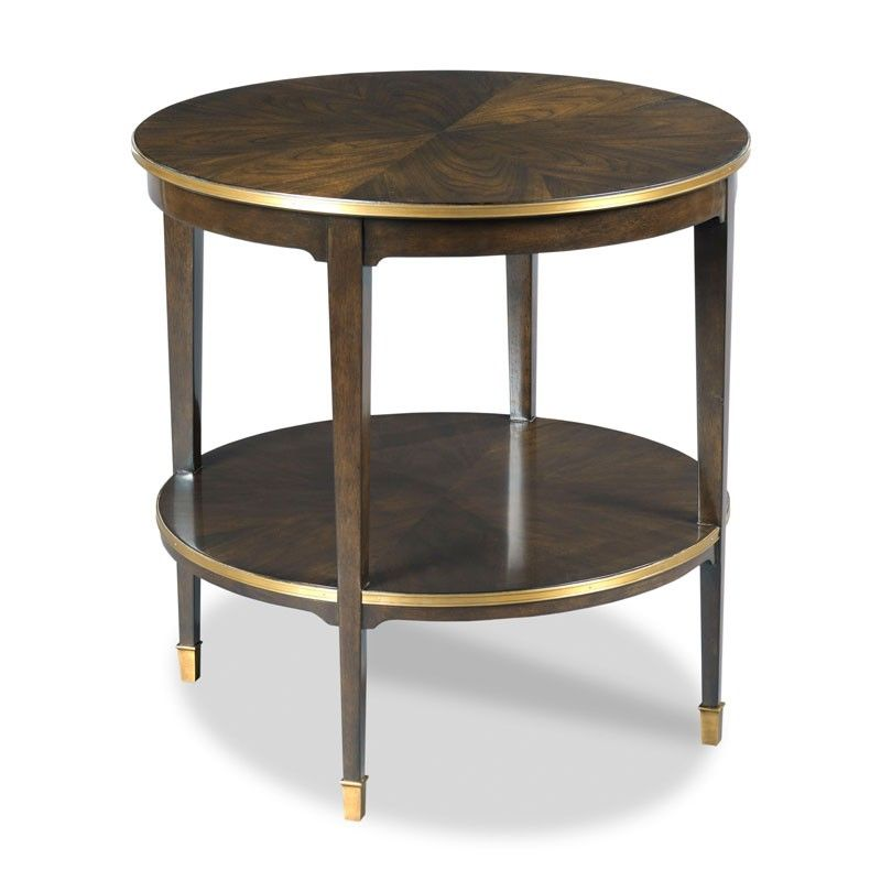 Emery Round Side Table For My Tobi Fairley For #WoodbridgeFurniture  Collection