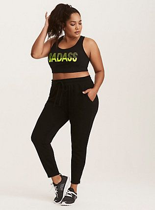 66985df5dbcc4 Badass Babe Active Set,   Active Wear Plus in 2019   Plus size ...