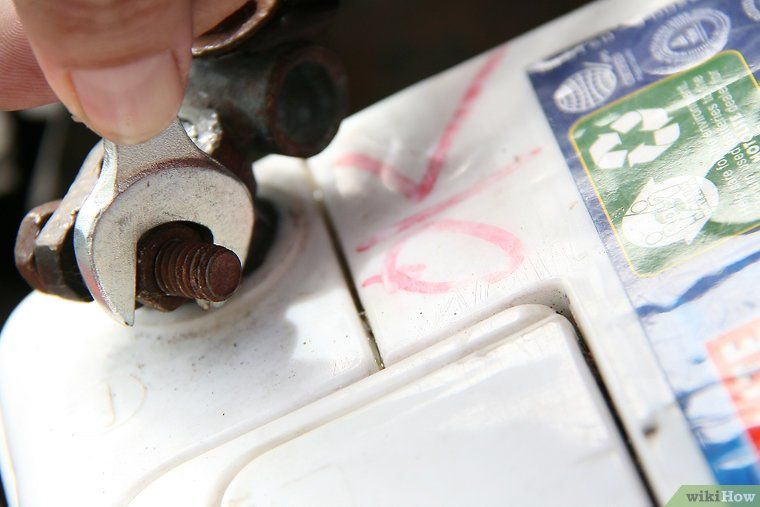 Clean battery corrosion and build up corrosion cleaning