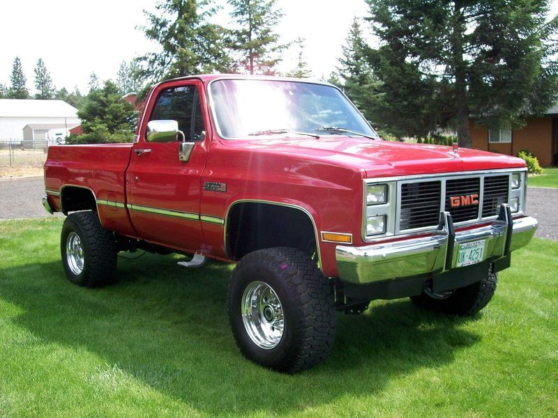 1986 Gmc Sierra 1500 For Sale By Owner Tacoma Wa Oldcaronline