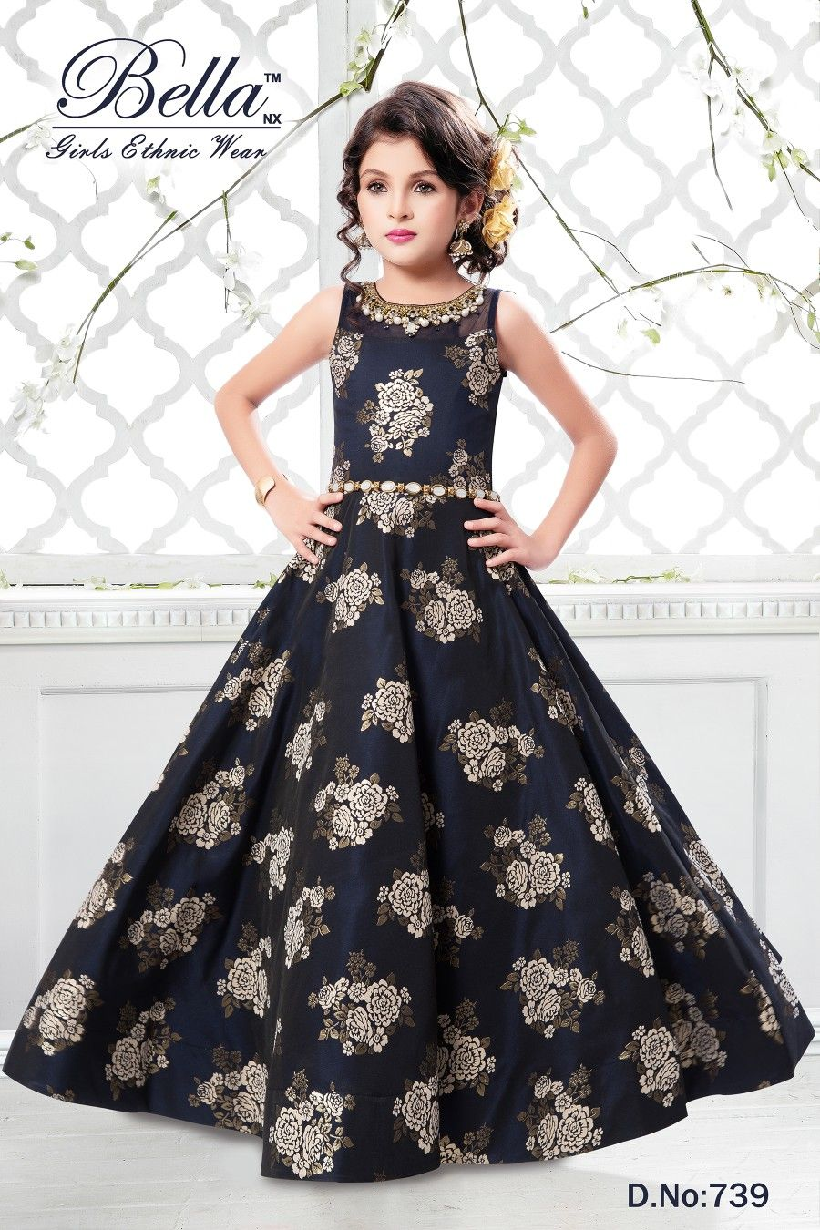 bb6703028 Long Frocks For Kids, Kids Frocks, Kids Gown Design, Kids Wear Online,