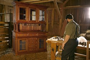 Exceptionnel Amish Furniture Shop Provides Income For The Families U0026 Some Donated Pieces  Are Auctioned To Pay