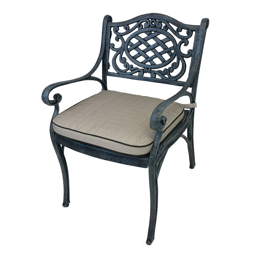 Outdoor Mississippi Arm Chair, Grey