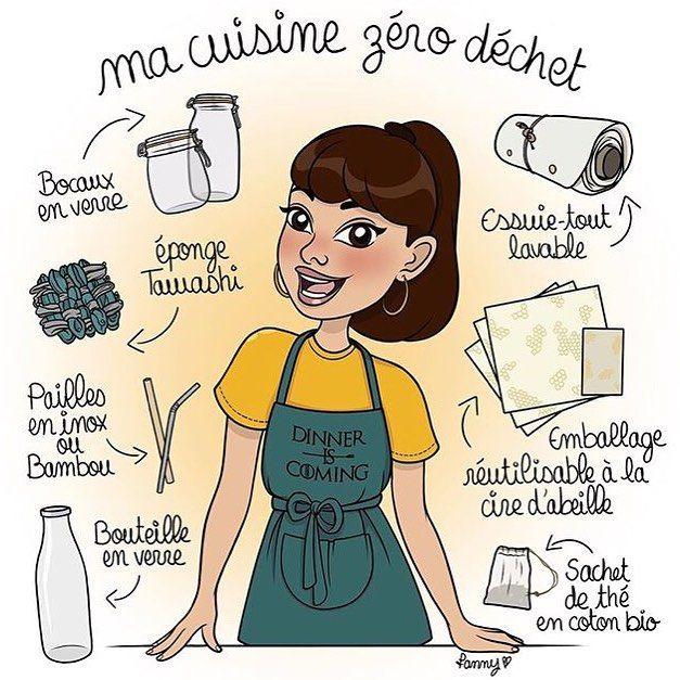 """Madame Zéro on Instagram: """"Avez-vous déjà adopté le zéro déchet dans votre cuisine?"""