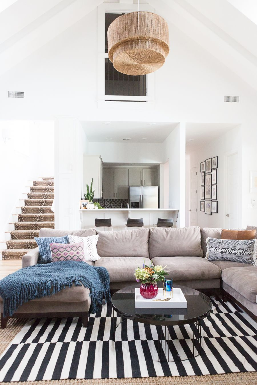 Cc And Mike Gameroom Reveal Cc And Mike Lifestyle And Design Blog Small Living Rooms Trendy Living Rooms Couches Living Room Sectional