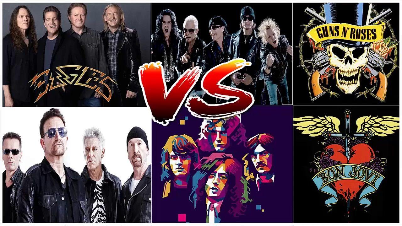 U2 Scorpions Guns N Roses Bon Jovi Led Zeppelin Greatest Hits